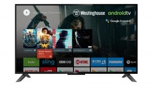 Wg43ux4100 Front Westinghouse Android Google Assistant Smart Tv 1
