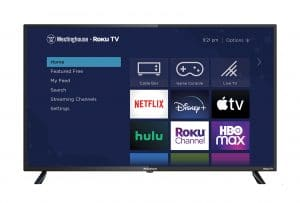 """Wr43ux4210 Westinghouse 43"""" 4K UHD Roku Tv with HDR"""
