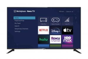 """Wr50ux4210 Westinghouse 50"""" 4K UHD Roku Tv with HDR"""
