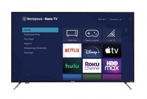 """Wr58ux4019 Westinghouse 58"""" 4K UHD Roku Tv with HDR"""