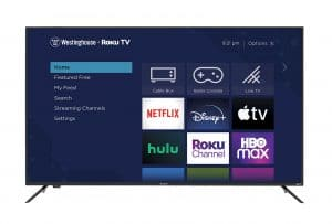 """Wr70ux4200 Westinghouse 70"""" 4K UHD Roku Tv with HDR"""